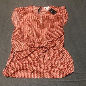 NWT forever 21 plus geo print tie top size 3X
